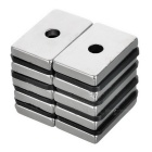 Strong Rectangular NdFeB Magnets w/ Sink Hole