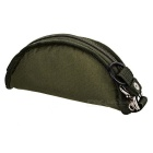Portátil dobrável Leakproof Canvas Pet Bowl - Blackish Verde