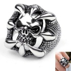 Lucky Ring Style 316L Stainless Steel Decoration (US Size 10)