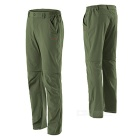 NatureHike Men's Two-Section Detachable Pants - Army Green (XL)