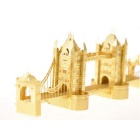 3D DIY Assembly Model of Tower Bridge of London - Gold
