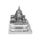 3D DIY Assembly Model of the United States Congress - Silver