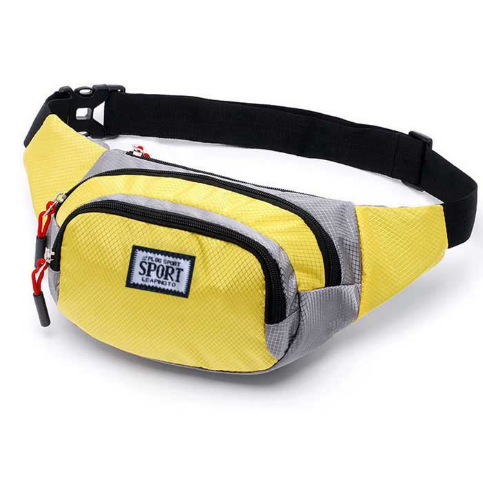 Outdoor Mountaineering Multifunctional Waist Bag - Yellow