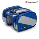 ROBESBON bicicletas feixe Saddle Bag - Azul + Grey (2L)