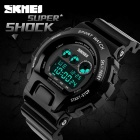 SKMEI 1150 50m Waterproof Multifunction Sport Watch - Black