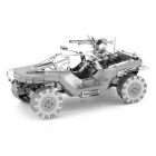 DIY 3D Puzzle Assembled Model Toy Warthog Number - Silver