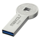 Maikou MK0086 Ancient COINS Style USB3.0 Flash Drive - Silver (16GB)
