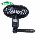 Mini Car Truck Vehicle Cooling Air Fan Car Suction-cup Fan - Black
