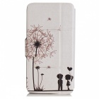 SZKINSTON Dandelion Pattern PU Leather Case for Samsung Galaxy Note 5
