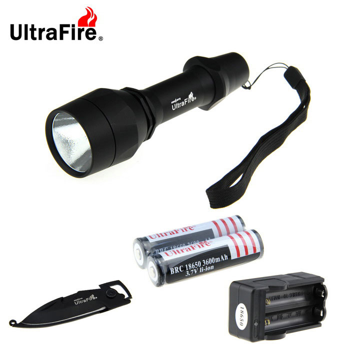Ultrafire U-X3 XM-L2 5-Mode Lanterna 889lm w / Multi-purpose faca