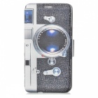 SZKINSTON Camera Pattern PU Leather Case for Samsung Galaxy Note 5