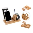 Fashion Phone Durable / Watch / Tablet Charge Stand - Bois Couleur