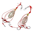 9# 6-Hook Fishing Ghostcrawler Explosion Hook - Mufti-color (2 PCS)