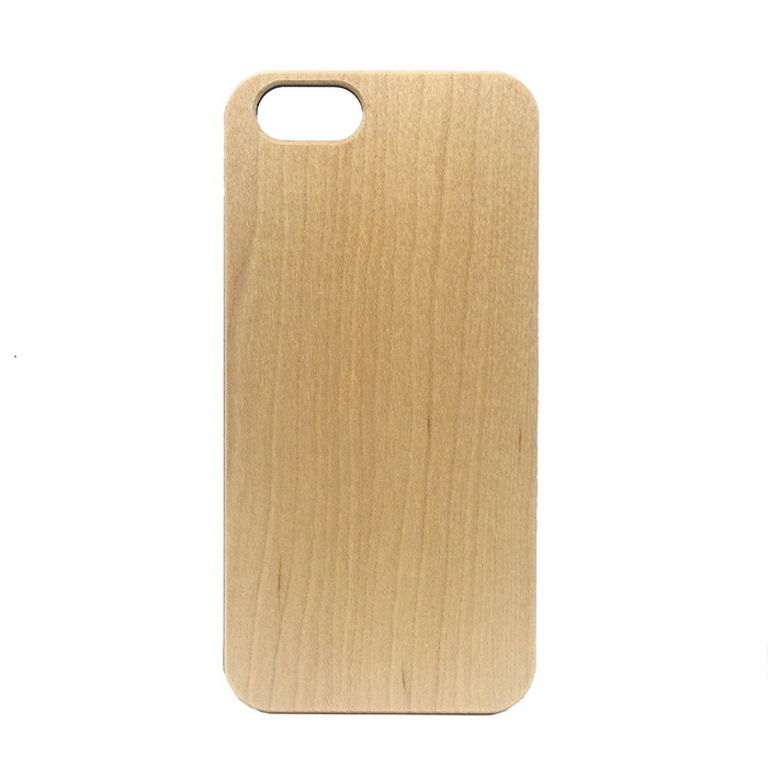 Wood + PC Back Case Cover for IPHONE 6 / 6S - Light Wood Color