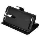 Lichee Pattern Protective Case for ASUS Zenfone 2 ZE550ML - Black