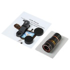 8X Monocular Telescope for Smart Phone - Black