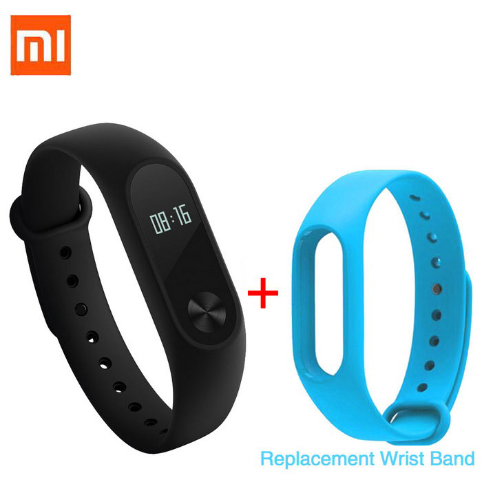 "Xiaomi 0.42 ""OLED Сенсорный экран Mi Band 2 Smart Bracelet + Replace Band"