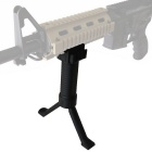 Generic 20mm Airsoft Rifle Extend Polymer Bipod w/ Fore Grip Handle
