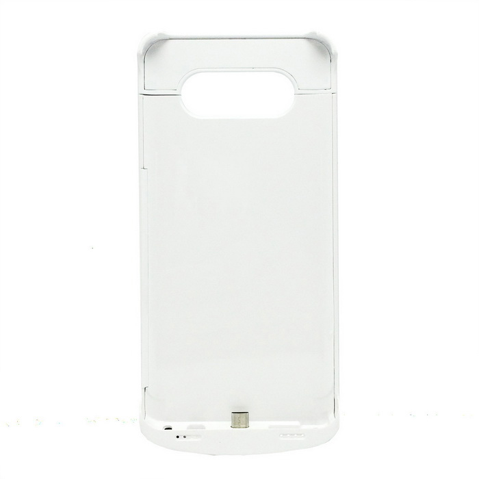 4200mAh Li-Polymer Battery Back Case for Samsung NOTE 5 - White