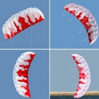 Outdoor Sports 2m Power Soft Kite Dual Line Stunt Parafoil Kite