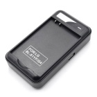 Mobile Phone / Battery Charger w/ USB Interface Output - Black