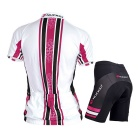 NUCKILY Women's Summer Cycling Jerseys Suit - Pink (XXL)