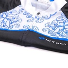 NUCKILY Women's Summer Cycling Jerseys Suit - Blue (M)