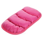 Carro Central Armrest Box Cover Braço Cushion - rosa