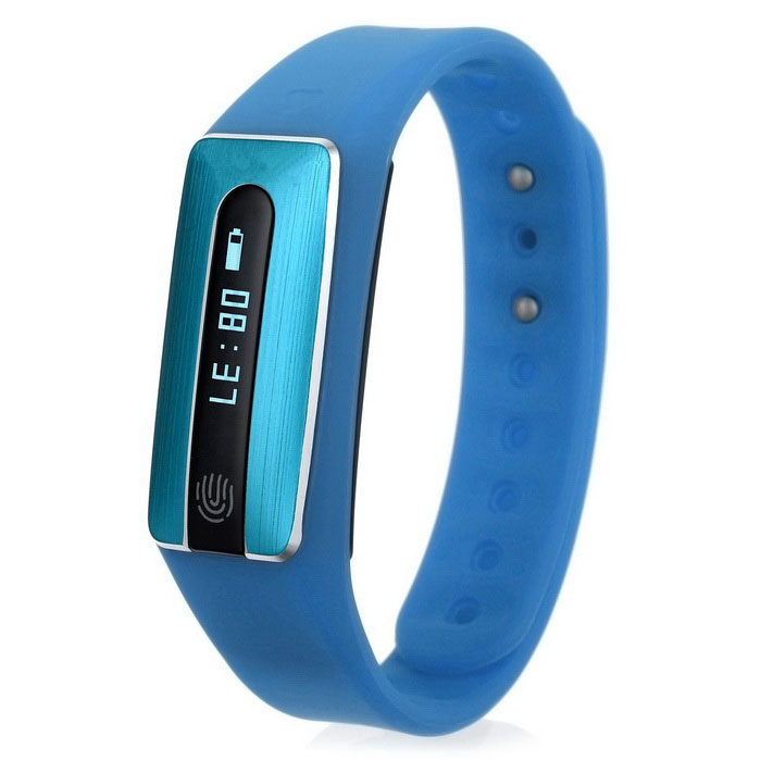 "HB02 0,69 ""OLED Bluetooth 4.0 Heart Rate Monitor NFC смарт-браслет"