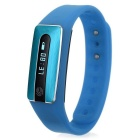 IP65 impermeável Touch Screen pulseira w / Anti-lost lembrete / Fitness Info. Compartilhamento - Azul