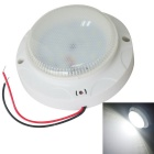 JIAWEN 5W Cool White18-LED Voice-Control Ceiling Lamp -White (AC 220V)