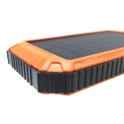 "SUNGZU ""10000mAh"" Dual USB Solar Power Bank Batería - Naranja"
