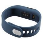 "Hengjiaan M5S 0.49"" OLED BT Bracelet Heart Rate Monitor - Dark Blue"