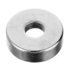 D12 * 4mm-4mm Circular NdFeB Magnets w/ Sink Hole - Silver (50PCS)