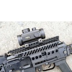 Senior AK Rail Sight Side Mount - Black