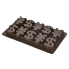 Creative Yhdysvaltain dollari / RMB Symbol Shaped Ice Lattice Mold - Coffee