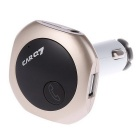 Q7 Bluetooth Car carregador duplo USB MP3 FM Transmitter - Gold