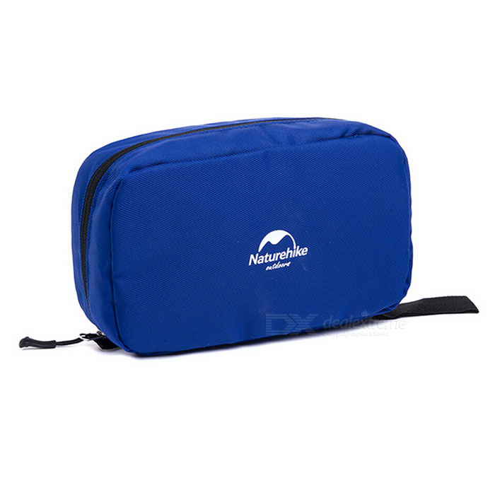 NatureHike Zippered макияж Вымойте сумка для хранения - Sapphire Blue