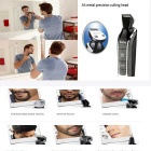 KEMEI KM-1832 5-in-1 Rechargeable Hair Clipper - Black + Silver