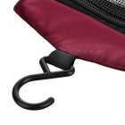 NatureHike Zippered макияж Вымойте сумка для хранения - Wine Red
