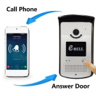 eBELL ATZ-DBV03P Smart Wireless HD IP Doorbell - Silver(US Plugs)