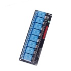 8-Channel 5V Relay Module - Black + Blue