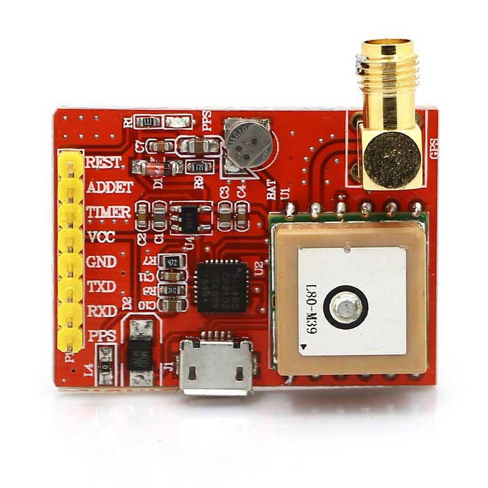 Eicoosi L80-39 USB-Port-GPS Module for Raspberry Pi 3B/2B/B+/A+