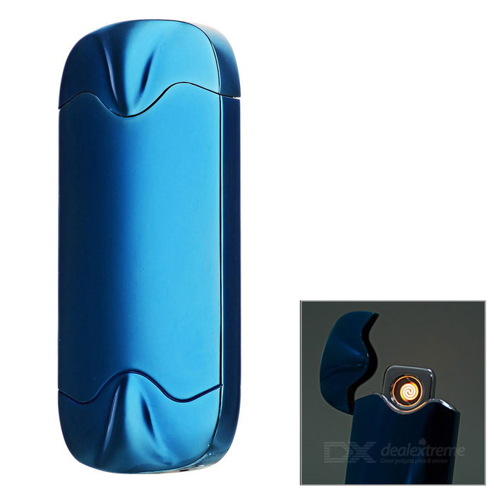 Double Side Round Igniter USB Li-ion Battery Rechargeable Lighter