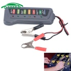 Auto Battery Alternator Load 6 LED Light Digital Battery Tester