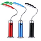 Auto 15-LED Flexible Work Light w/ Strong Magnet - Red