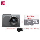 "Xiaomi Yi ADAS Youth Version 2.7"" 1296P Car DVR Recorder + 16GB TF"