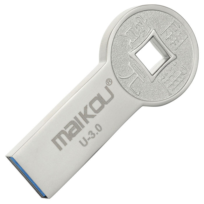 Maikou MK0086 moedas antigas USB 3.0 Flash Drive 8GB - Silver