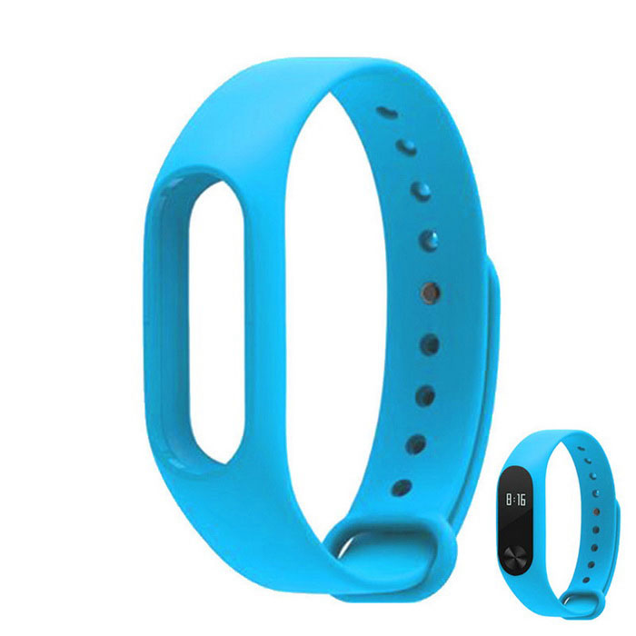 Replacement TPU Wrist Band for Xiaomi MI Band 2 Smart Bracelet 2- BlueWearable Device Accessories<br>Form ColorBlueQuantity1 DX.PCM.Model.AttributeModel.UnitMaterialTPUPacking List1 * Band<br>