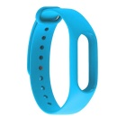 Replacement TPU Wrist Band for Xiaomi MI Band 2 Smart Bracelet 2- Blue